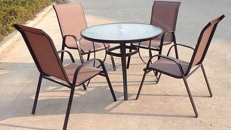 Sharks Jasin Set zahradního nábytku - Bronz Design