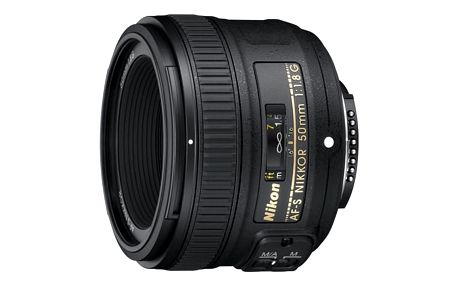 Objektiv Nikon NIKKOR 50mm f/1.8G AF-S černý + DOPRAVA ZDARMA