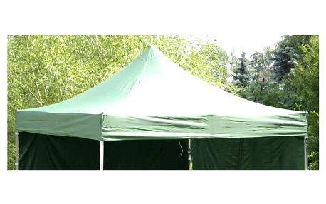 Garthen PROFI 735 Náhradní střecha na skládací zahradní stan 3 x 3 m - zelená