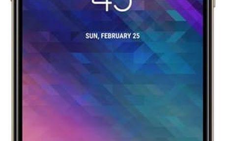 Mobilní telefon Samsung A6 (SM-A600FZDNXEZ) zlatý Software F-Secure SAFE, 3 zařízení / 6 měsíců v hodnotě 979 Kč