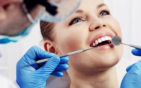 Dentální hygiena s možností bělení zubů