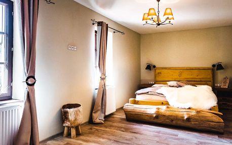 Romantika ve mlýně: krásné ubytování a polopenze