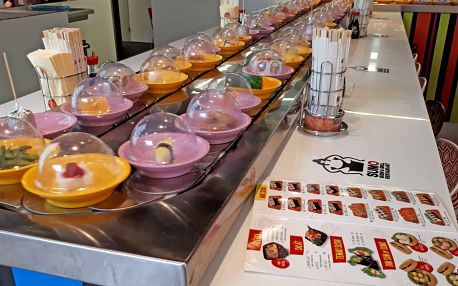 Až 28% sleva na All You Can Eat Running Sushi, OC Novodvorská Plaza