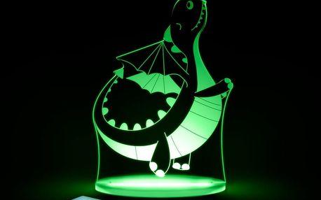 Dětské LED noční světýlko Aloka Dinosaur
