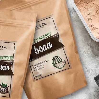 Proteiny, spalovače i BCAA od českého výrobce