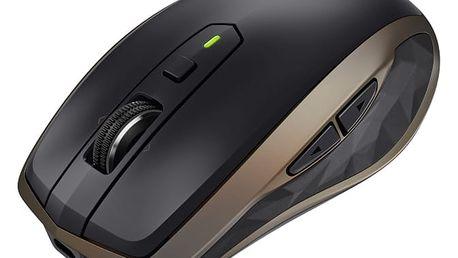 Myš Logitech MX Anywhere 2 bronzová (/ Darkfield / 6 tlačítek / 1600dpi) (910-004374)