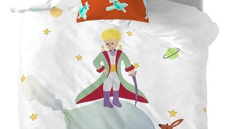 Dětské bavlněné povlečení na peřinu a polštář Mr. Fox Little Prince, 140x200cm