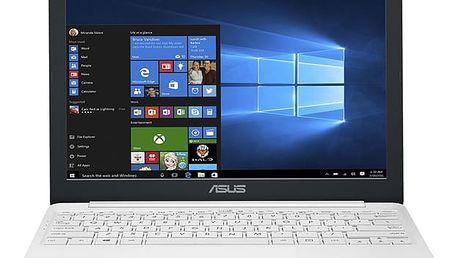 Notebook Asus E12 E203NA-FD108TS + Office 365 (E203NA-FD108TS) bílý Software F-Secure SAFE, 3 zařízení / 6 měsíců + Monitorovací software Pinya Guard - licence na 6 měsíců v hodnotě 1 178 Kč + DOPRAVA ZDARMA