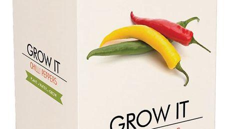 Pěstitelský set se semínky chilli papriček Gift Republic Chilli Peppers