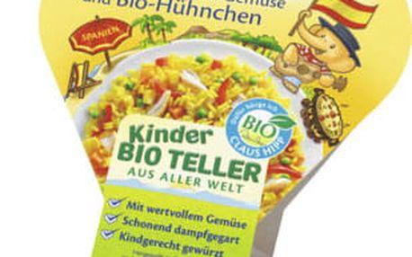 6x HIPP BIO Bezlepková paella se zeleninou a kuřecím masem, 250 g - maso-zeleninový příkrm