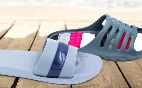 Pánské a dámské letní pantofle v mnoha stylech