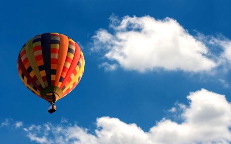 Vyhlídkový let balonem nad Prahou