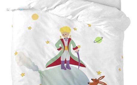 Dětské bavlněné povlečení na peřinu a polštář Mr. Fox Little Prince, 100x120cm