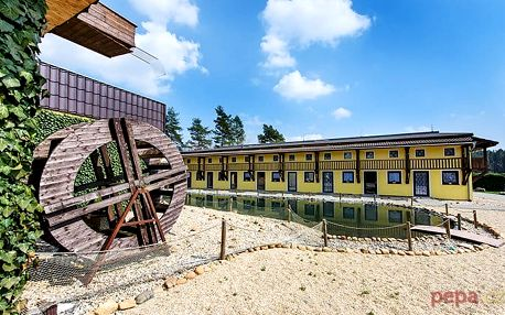 3–4denní pobyt plný sportovního vyžití v Blatském dvoře na Třeboňsku pro 2 osoby