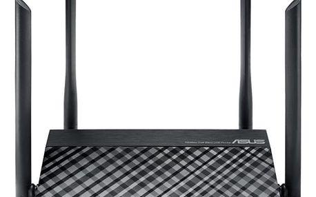 Router Asus RT-AC1200 černý (90IG0211-BM3D00)