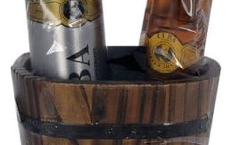 Cuba Gold dárková kazeta pro muže voda po holení 100 ml + deodorant 200 ml