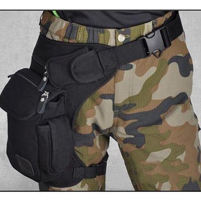 Taktická taška na stehno - dodání do 2 dnů