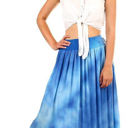 Dámská dlouhá batikovaná sukně béžová