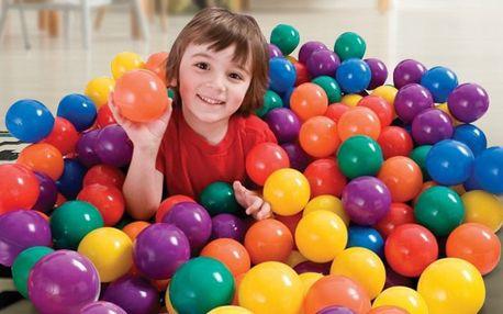 Plastové míčky do dětského bazénu, 50–1000 ks
