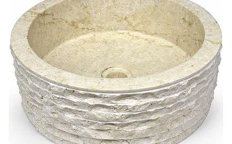 Divero ROMA 1659 Umyvadlo z přírodního kamene
