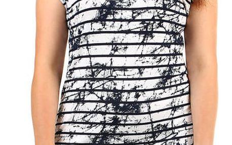 Dámské pruhované šaty i pro plnoštíhlé