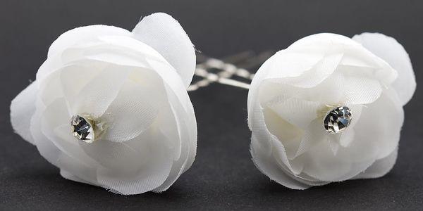 Vlásenka do vlasů kytka svatební