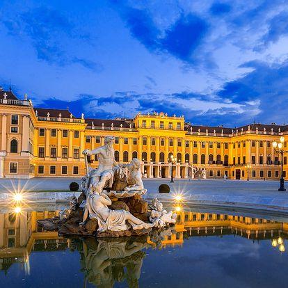 1–5 nocí ve Vídni: hotel u Schönbrunnu se snídaní