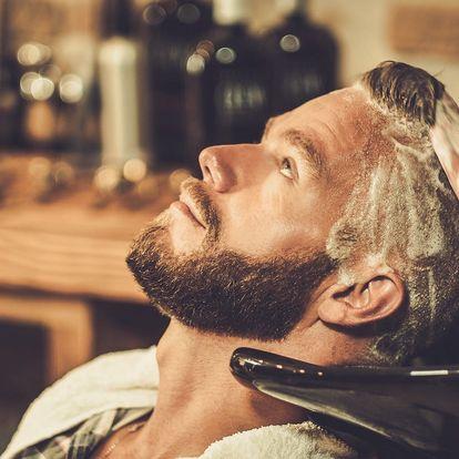 Profesionální barber střih od vlasové stylistky