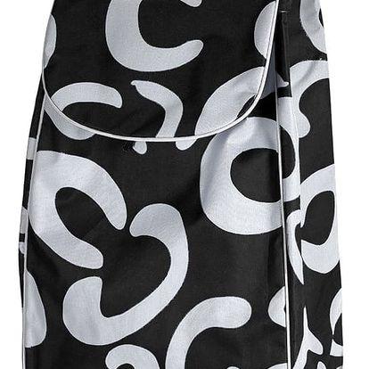 Nákupní taška na kolečkách Trolley, černá