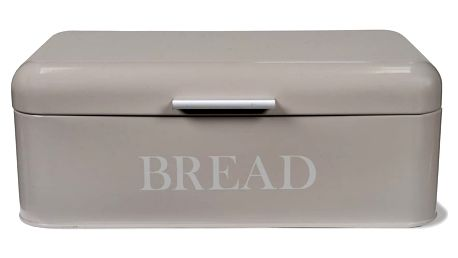 Šedý chlebník Garden Trading Bread Bin In Pebble