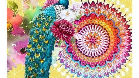 Plážová osuška s potiskem Muller Textiels Chanelle, 100 x 180 cm