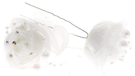 Vlásenka do vlasů kytka svatební velká