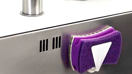 Bílý magnetický držák na houbičku Reenbergs Sponge
