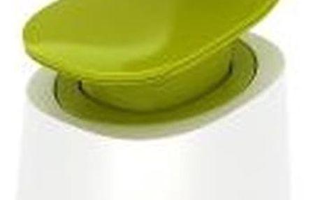 Bílo-zelený dávkovač mýdla Joseph Joseph C-Pump