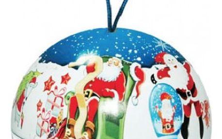 Sypaný čaj Vánoční koule - modrá - SLEVA - blížící se datum spotřeby