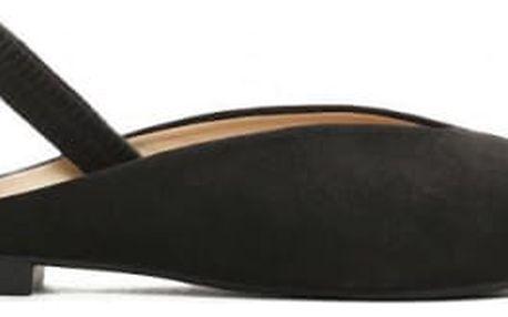 Dámské černé sandály Mossi 6207