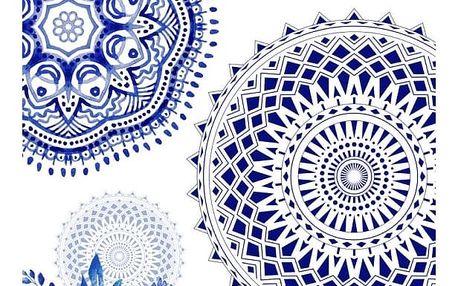 Plážová osuška s potiskem Muller Textiels Grande, 100 x 180 cm