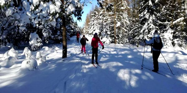 Kurz lyžování pro 2 osoby (2 h)2
