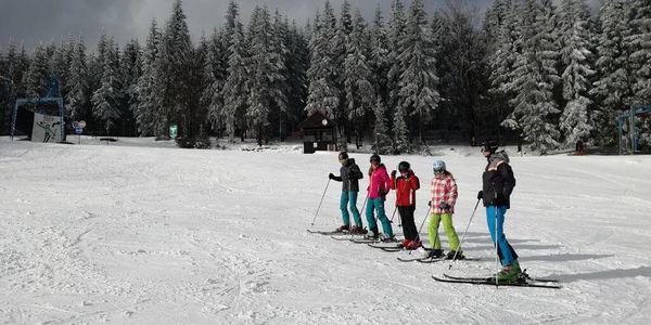 Kurz lyžování pro 2 osoby (2 h)4