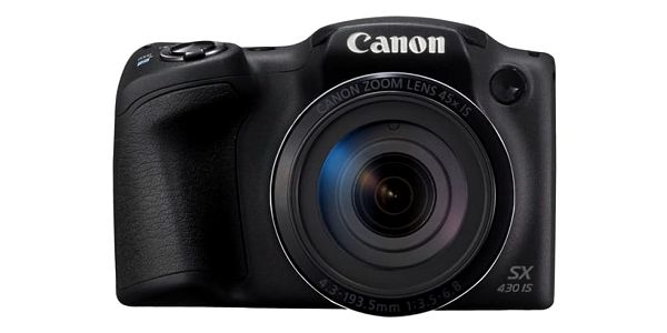 Digitální fotoaparát Canon PowerShot PowerShot SX430 IS černý (1790C002)