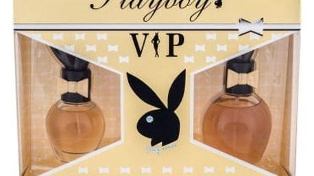 Playboy VIP For Her dárková kazeta pro ženy toaletní voda 75 ml + toaletní voda 30 ml