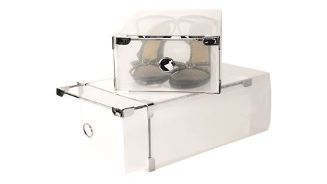 Set 2 krabic na boty JOCCA Plastic Boxes, 34x22cm
