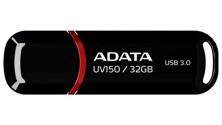 USB Flash ADATA DashDrive UV150 32GB černý (AUV150-32G-RBK)