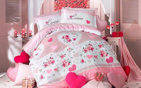 XPOSE ® Bavlněné povlečení LOVELY DAY 140x200, 70x90