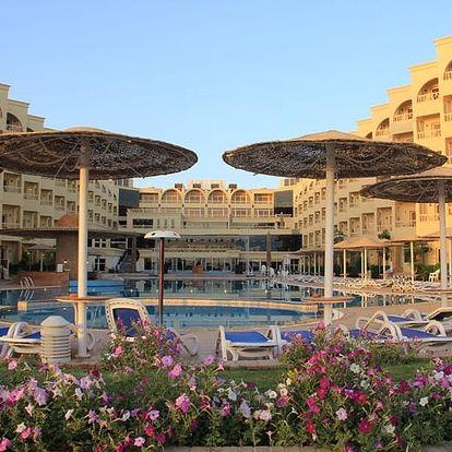 Egypt - Hurghada na 7 až 9 dní, all inclusive s dopravou letecky z Prahy přímo na pláži