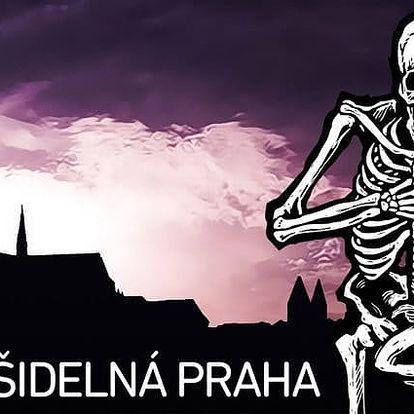 90minutová strašidelná, zábavná i poučná procházka centrem Prahy pro malé i velké