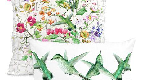 Sada 2 bavlněných povlaků na polštář Happy Friday The Florist