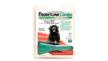 Frontline Combo Spot - on Dog XL 1 x 4,02 ml (pes 40 - 60kg)