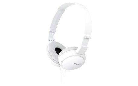 Sluchátka Sony MDRZX110W.AE bílá (MDRZX110W.AE)
