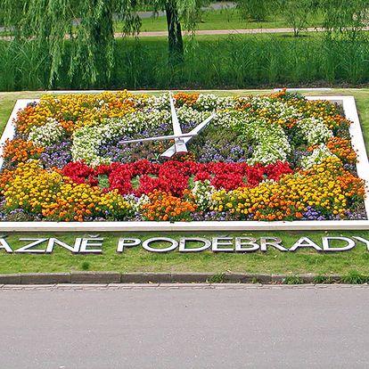 Pohodové Poděbrady v luxusním 4* hotelu uprostřed lázeňského parku s wellness procedurami a snídaní